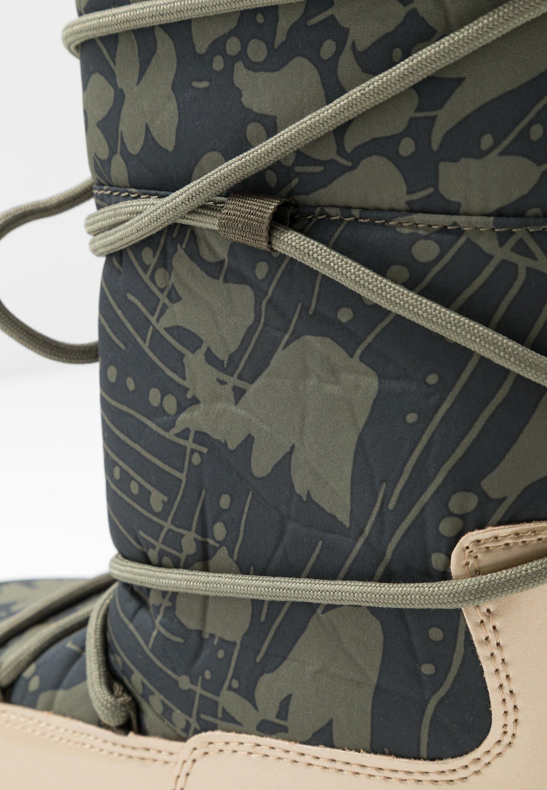 Ilse Jacobsen MOON 9075 - Bottes de neige - army - Bottes femme OffreBoutique