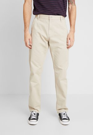 RUCK SINGLE KNEE PANT MILLINGTON - Trousers - wall stone washed