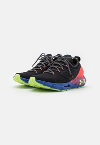 Under Armour - HOVR PHANTOM 2 GLOW - Neutral running shoes - black - 1