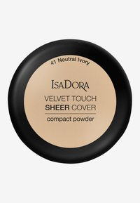 IsaDora - VELVET TOUCH SHEER COVER COMPACT POWDER - Powder - neutral ivory - 2