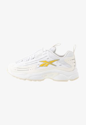 DMX SERIES 2K SOFT SUPPORTIVE FEEL - Sneakers laag - white/chalk/toxic yellow