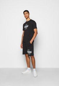Iceberg - THE CREW - Print T-shirt - nero - 1