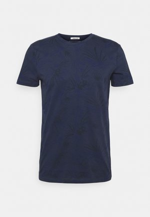 ALLOVER PRINTED - Camiseta estampada - navy blue