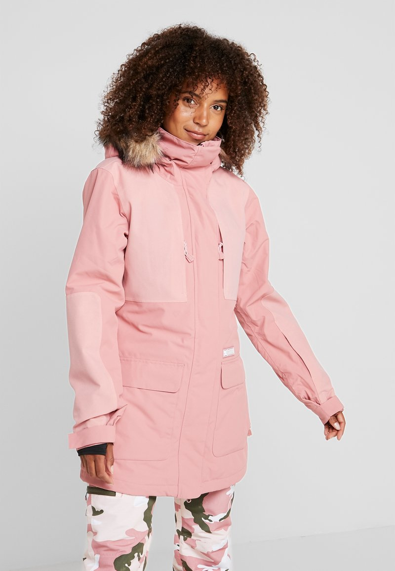 DC Shoes - PANORAMIC - Snowboard jacket - dusty rose