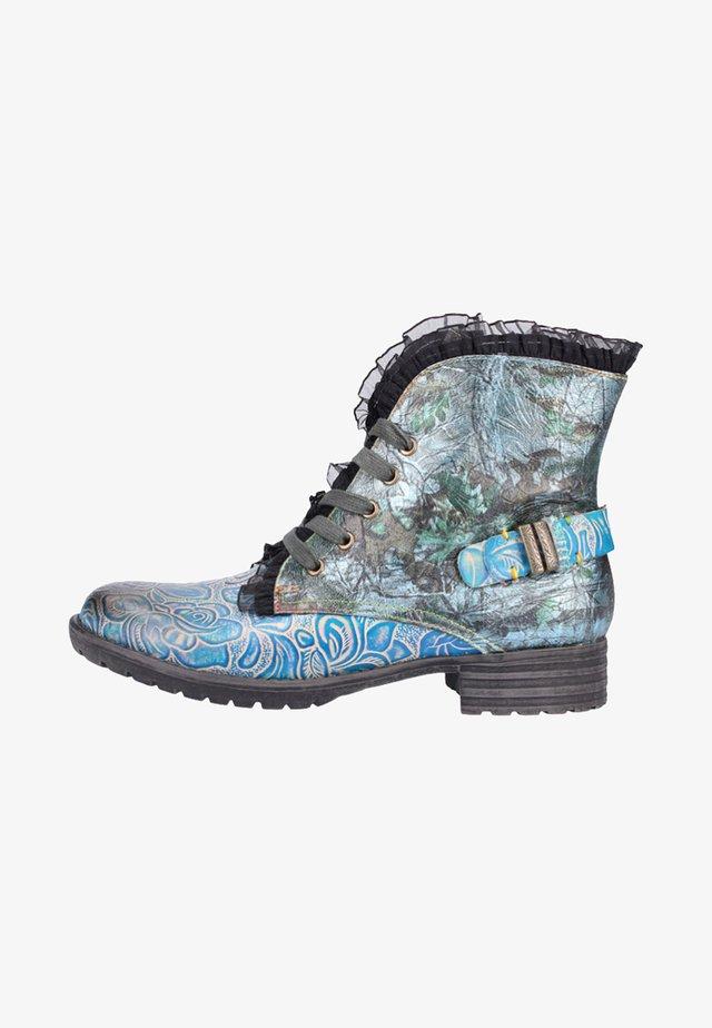 Ankelboots - turquoise