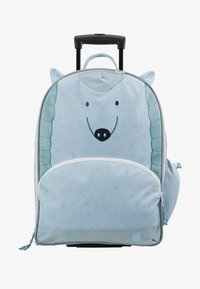 Lässig - ABOUT FRIENDS LOU ARMADILLO - Wheeled suitcase - blue - 1