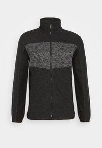CURZON - Fleecová bunda - ash/black