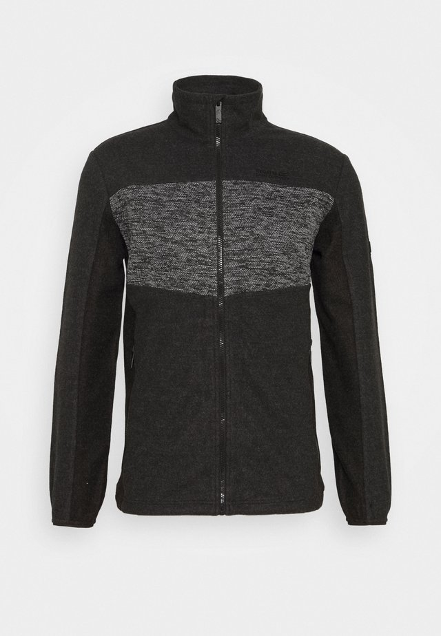 CURZON - Giacca in pile - ash/black