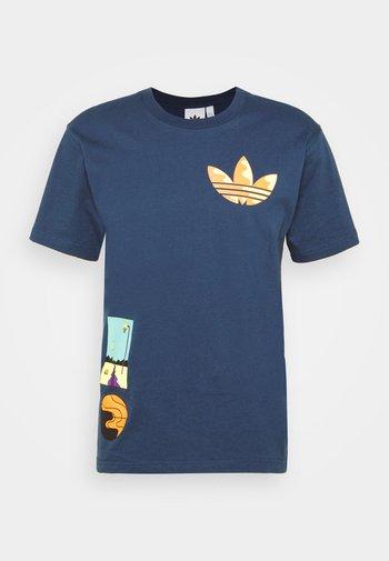 SURREAL SUMMER UNISEX - T-shirts print - crew navy