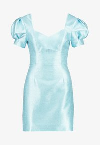 Mossman - THE SIREN MINI DRESS - Sukienka koktajlowa - powder blue - 3