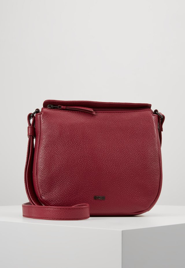 NOLA  - Across body bag - rhododenron