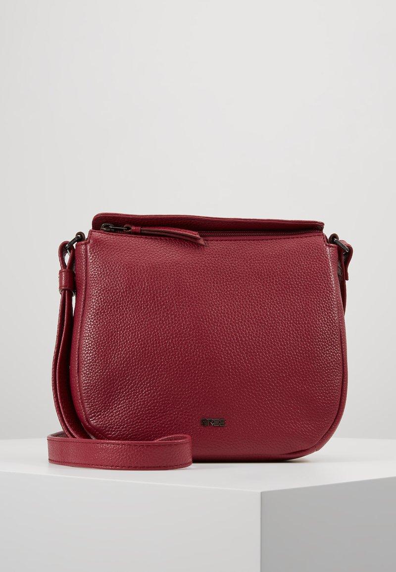 Bree - NOLA  - Across body bag - rhododenron