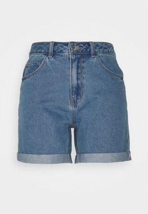 VMNINETEEN MIX - Denim shorts - light blue denim