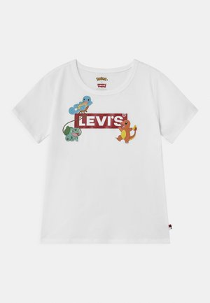 LEVIS X POKEMON GRAPHIC  - Print T-shirt - white