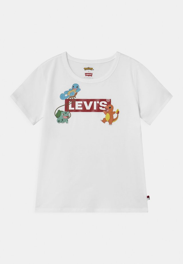 LEVIS X POKEMON GRAPHIC  - T-shirt imprimé - white