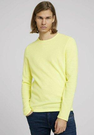 Jumper - cream yellow