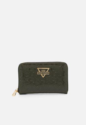 Wallet - khaki dark