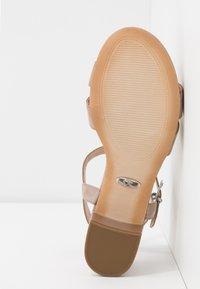 Caprice - Sandales - taupe metallic - 6