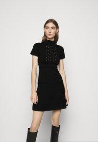 Pinko - DOMINICA DRESS - Jumper dress - nero - 0