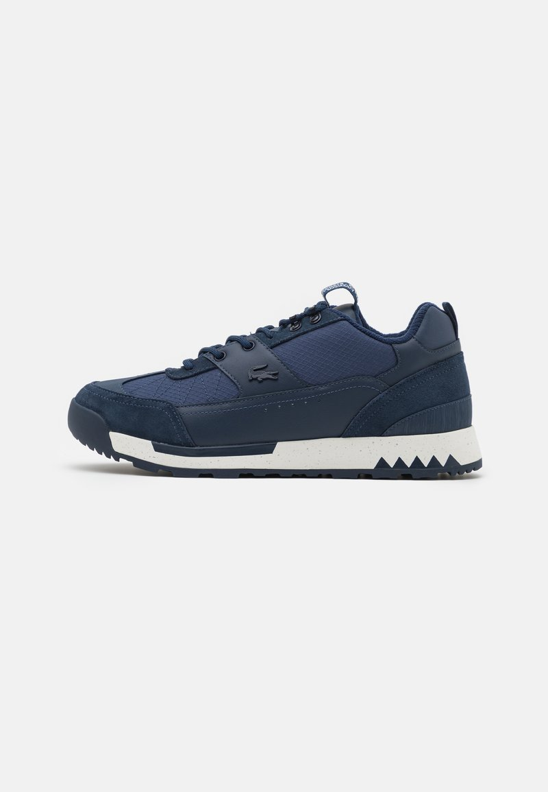 Lacoste - URBAN BREAKER - Trainers - navy/off white