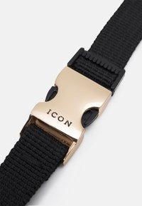Icon Brand - TRIBAL CLIP LANYARD - Nyckelringar - black - 3