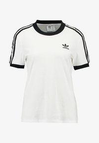 adidas Originals - T-shirt imprimé - white - 3