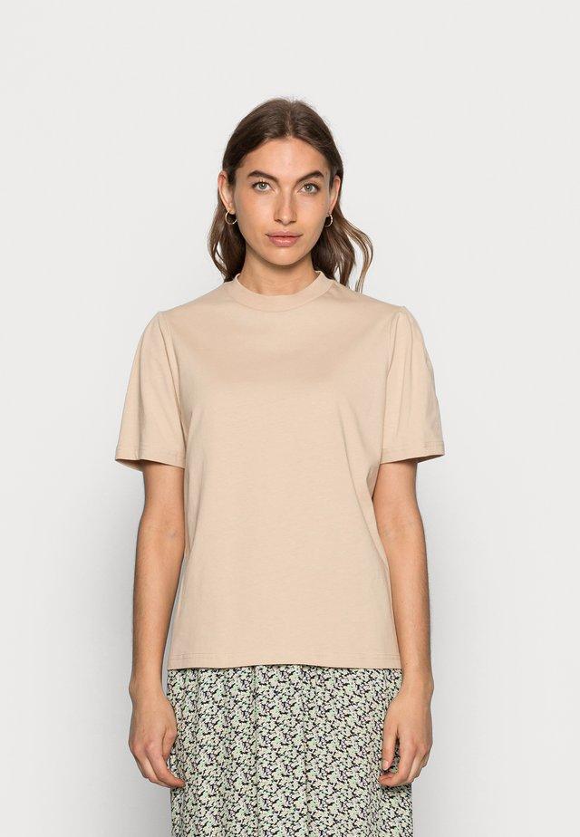 GAURE - T-shirt basic - cream