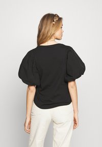 River Island - Print T-shirt - black - 2