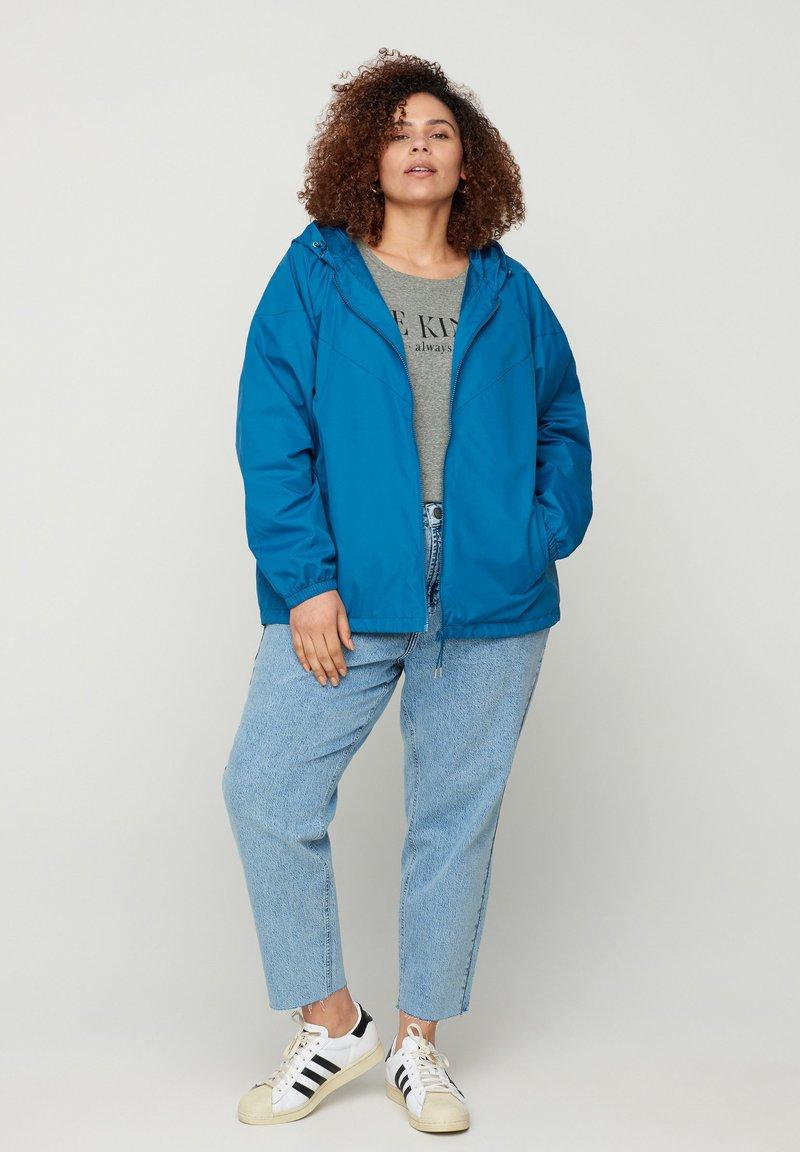 Zizzi - Light jacket - blue
