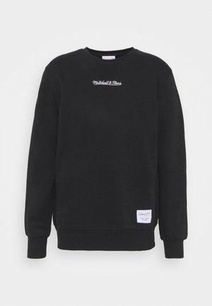 BRANDED ESSENTIALS CREW - Sweatshirt - black