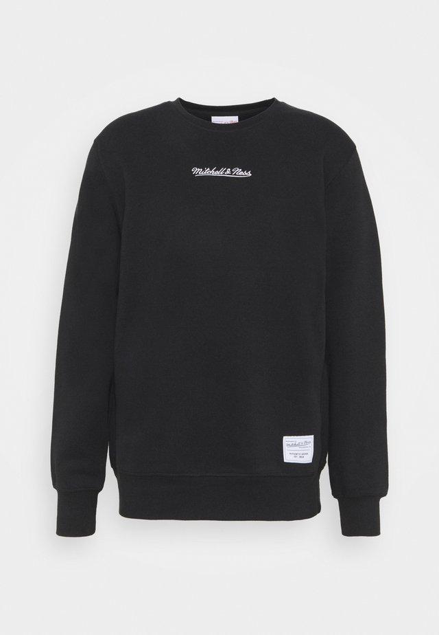 BRANDED ESSENTIALS CREW - Sweater - black
