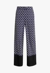 Dorothy Perkins - GEO PRINT RING PALAZZO - Pantalones - multi-coloured - 4
