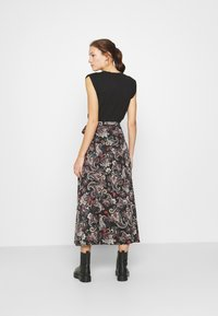 Replay - SKIRTS - Maxi skirt - black/sand/natural white/red - 2