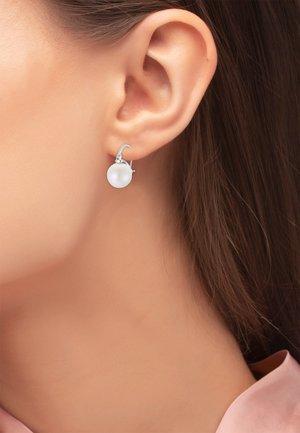 OHRSCHMUCK ILA - Earrings - silberfarben poliert