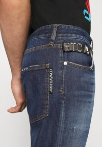 Just Cavalli - PANTALONE WITH LOGO - Slim fit jeans - blue denim - 3