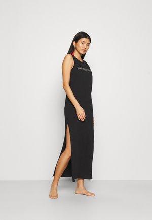 LONG TANK DRESS - Doplňky na pláž - nero/silver