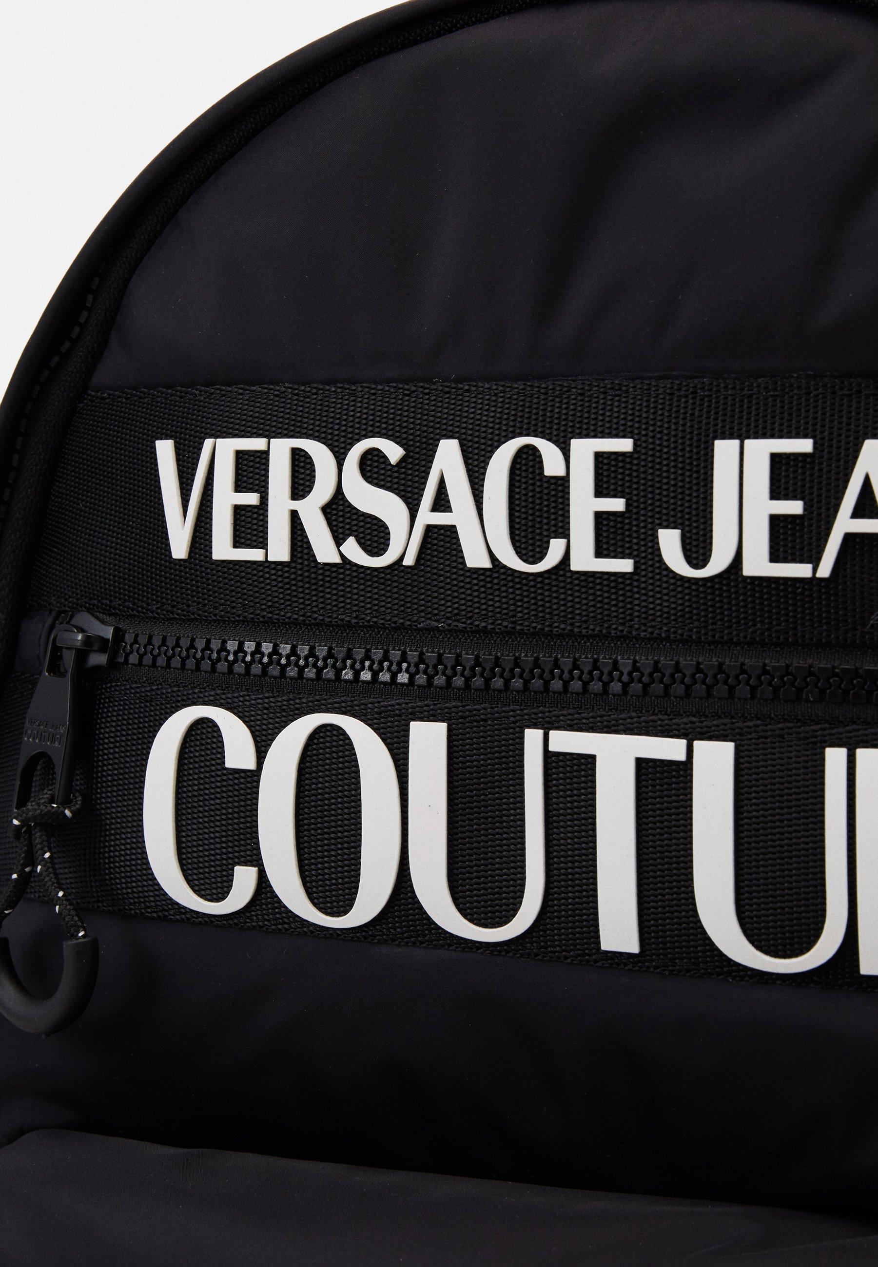 Versace Jeans Couture Ryggsekk - nero/svart QkrqDhEhuM4Kae1