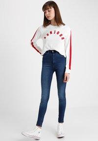 Dr.Denim Tall - MOXY HIGH WAIST - Jeans Skinny Fit - blue used - 1