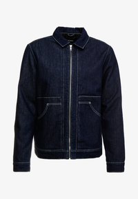 JJIALBERT JJJACKET  - Džínová bunda - blue denim