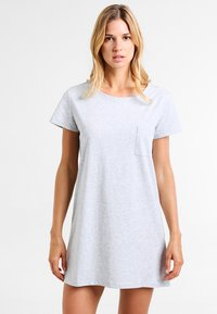Zalando Essentials - 2 PACK - Nightie - black/light grey - 1