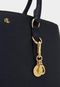 Lauren Ralph Lauren - SATCHEL LARGE SAFFIANO - Handbag - navy - 4