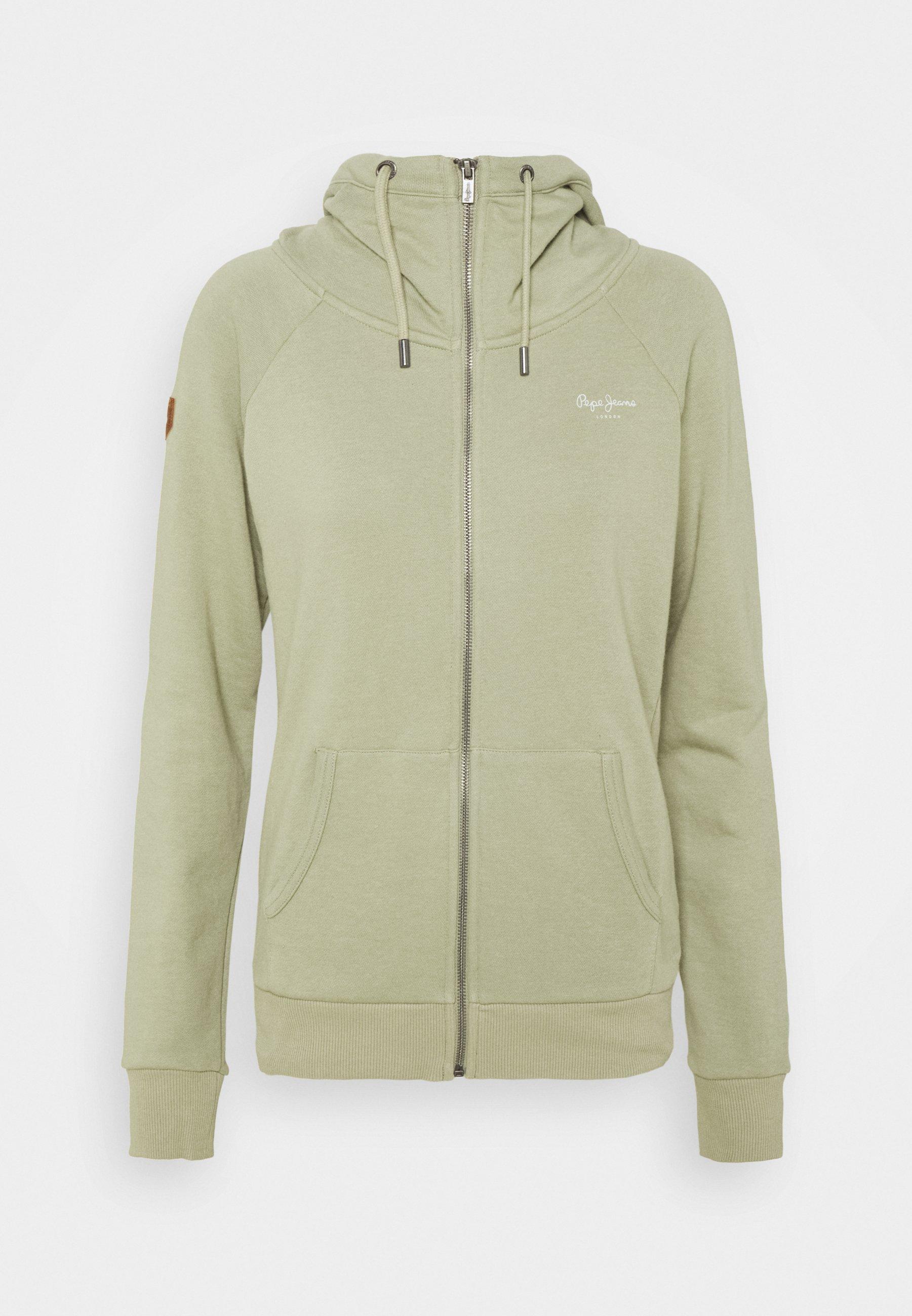 Women ANETTE - Zip-up sweatshirt