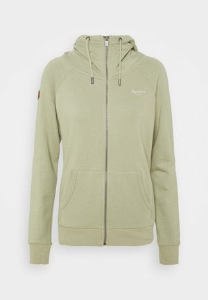 ANETTE - Zip-up hoodie - palm green