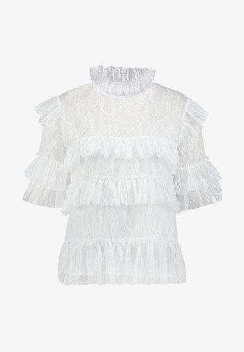 RACHEL BLOUSE - Blouse - white