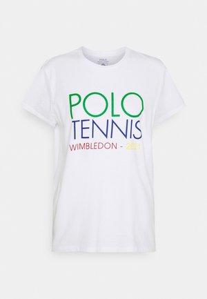 T-shirt con stampa - pure white