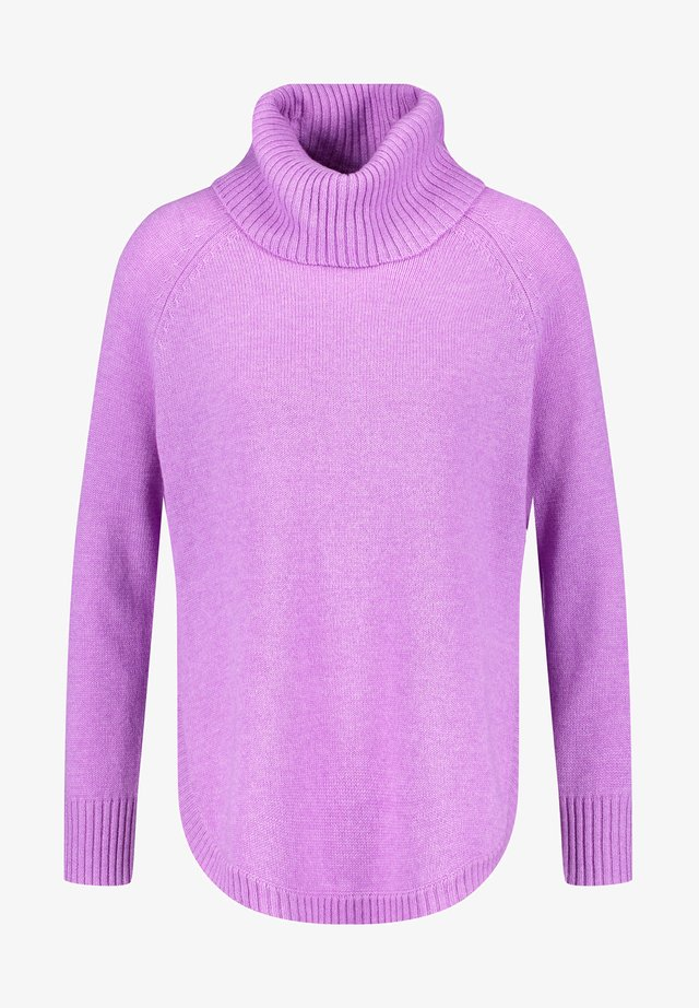 Jumper - sheer-lilac melange