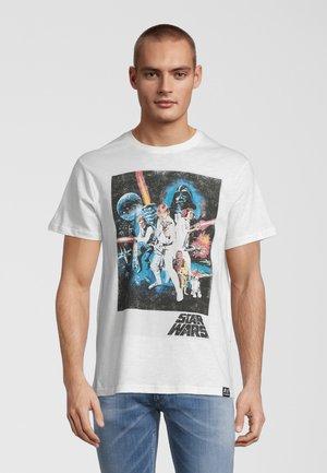 STAR WARS CLASSIC NEW HOPE  - T-shirt print - weiß