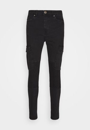 BIKERCARGO - Jeans Skinny Fit - charcoal