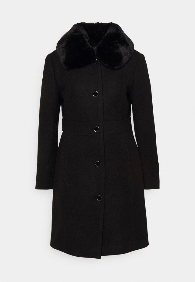 LINDA DOLLY - Classic coat - black