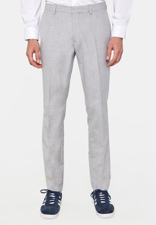 DALI - Spodnie garniturowe - blended light grey